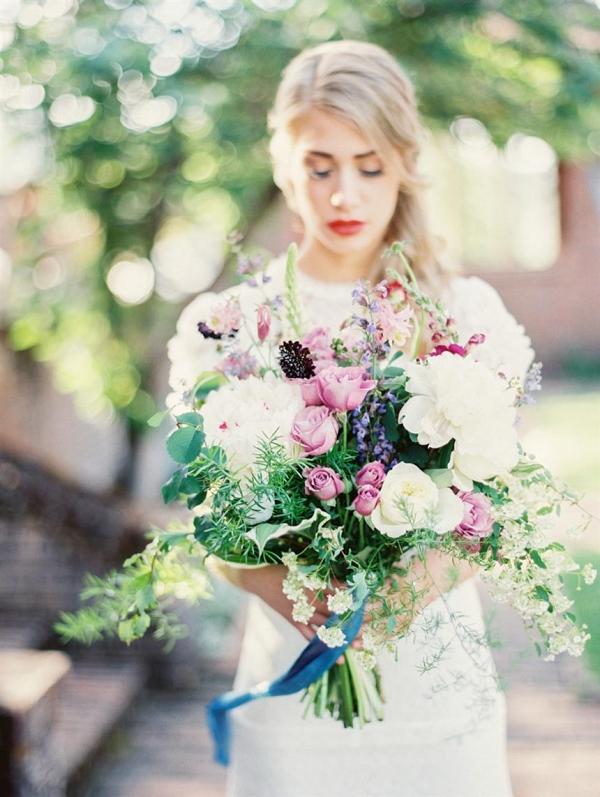 Romantic Wild Bridal Bouquet