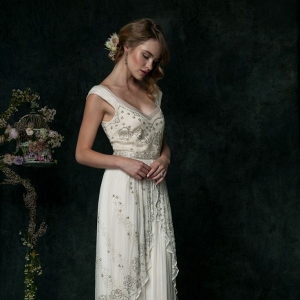 Edwardian Inspired Wedding Dress from SAJA Wedding