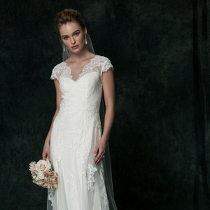 Romantic Lace Wedding Dress from SAJA Wedding