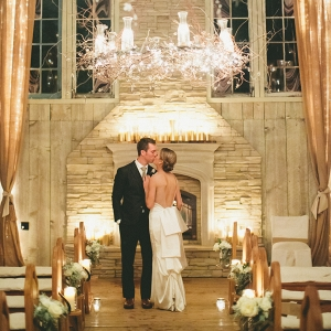 Romantic Candlelit Winter Wedding