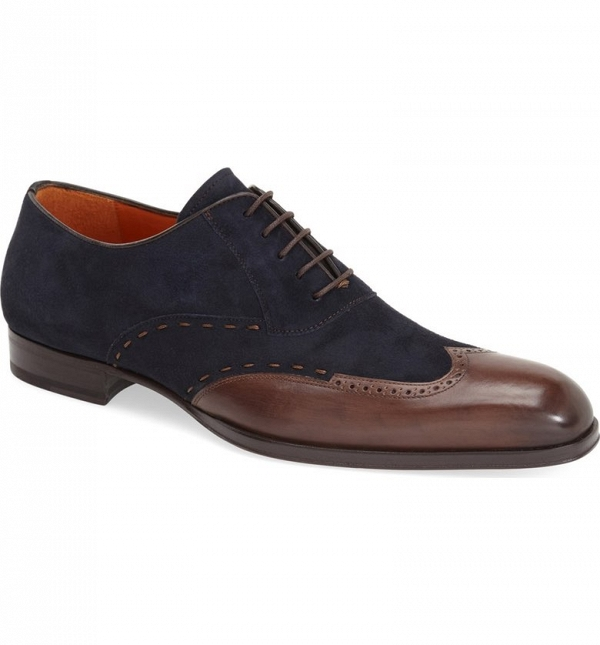 'Ronda' Groom's Suede Dress Shoe