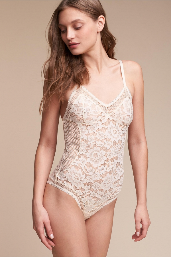 'Ryka' Lace Bridal Bodysuit