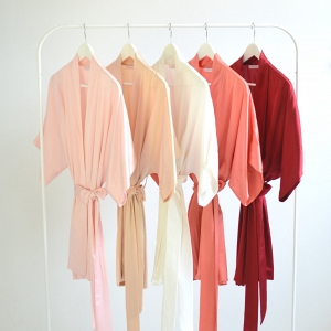 'Samantha' Silk Robes