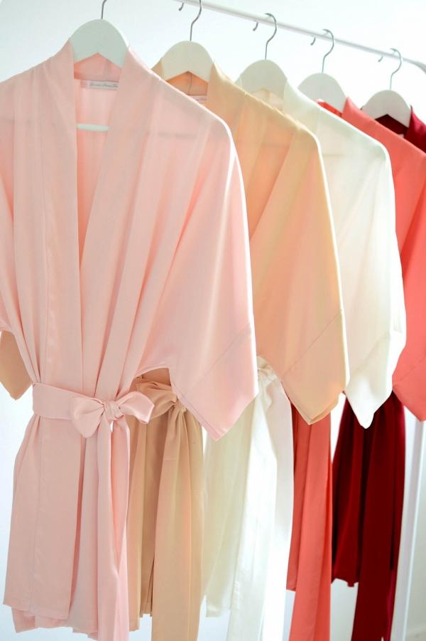 'Samantha' Silk Robes