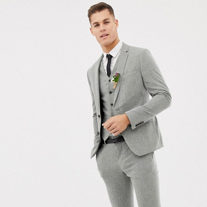 3 Piece Skinny Fit Wedding Suit