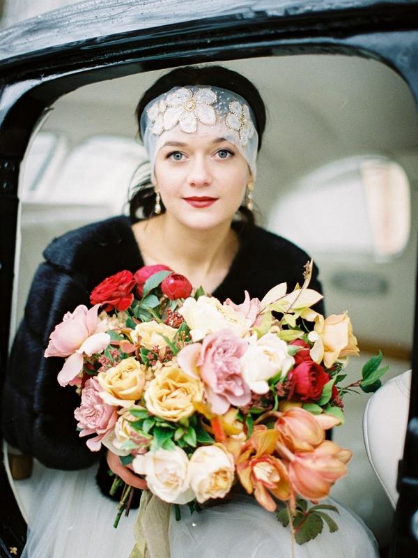 Art Deco Vintage Fine Art Bride