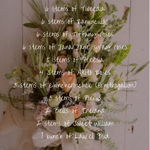 Stunning Sheath Bridal Bouquet Recipe