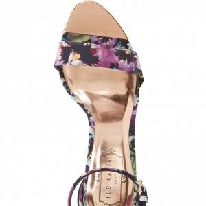 Ted Baker 'Charv' Floral Print Sandal