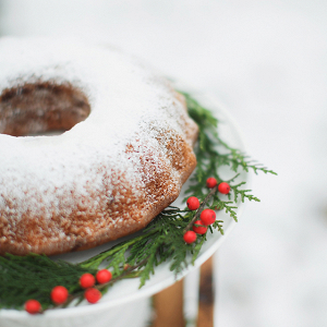 Holiday Season Bundt Cake