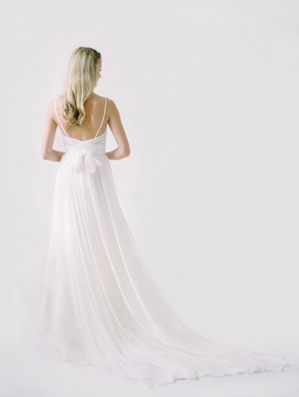 Kim Wedding Dress Back from Truvelle's 2018 Bridal Collection