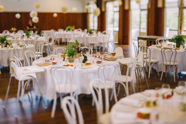 1950s Inspired DIY Wedding Reception