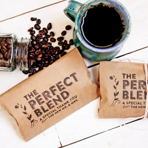 Coffee Bags Wedding Favors