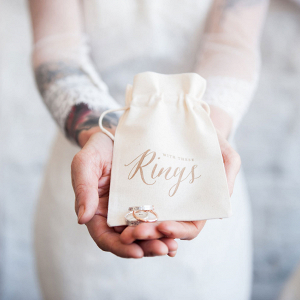 Wedding Ring Pillow Alternative