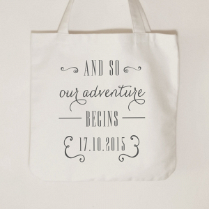 'And so our adventure begins' Tote bag