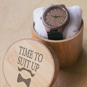 Wooden Best Man Watch