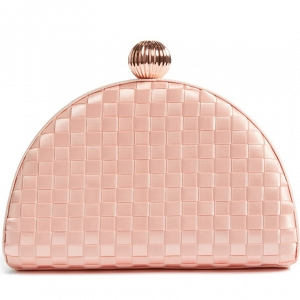 Woven Dome Clutch