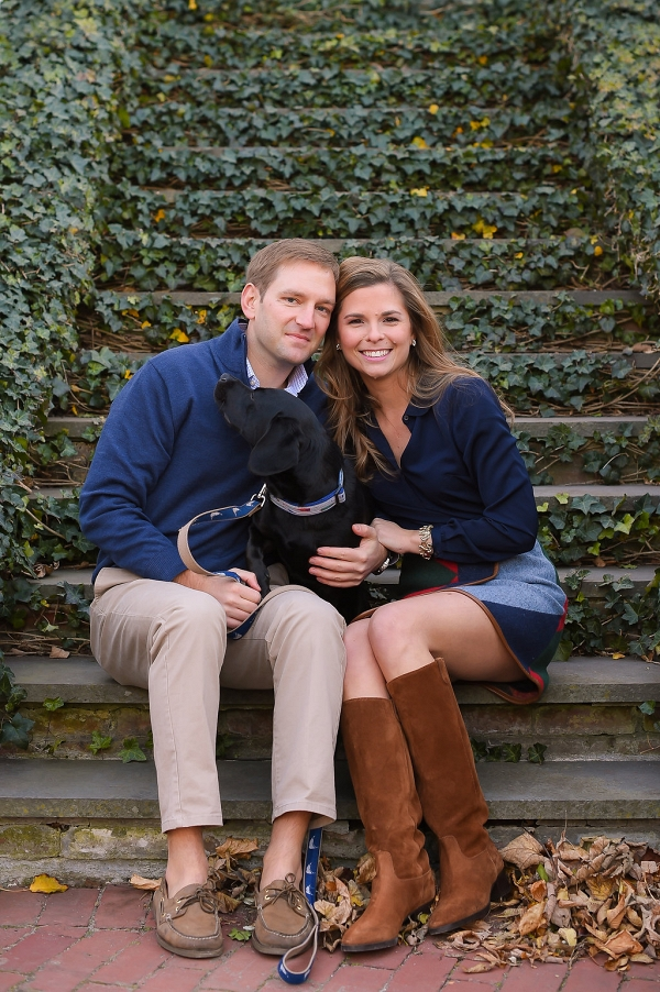 preppy engagement