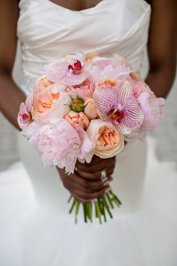 Elegant orchid bouquet