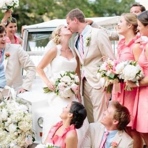 Preppy Chic Coastal Wedding on Bald Head Island