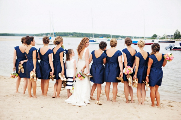 Preppy wedding in Watch Hill, RI