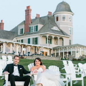 Charming Castle Hill Inn Wedding