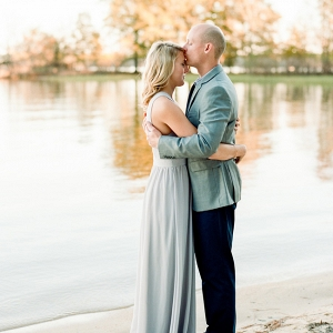 Romantic Jordan Lake Engagement