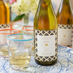 Custom Anniversary Wine Labels