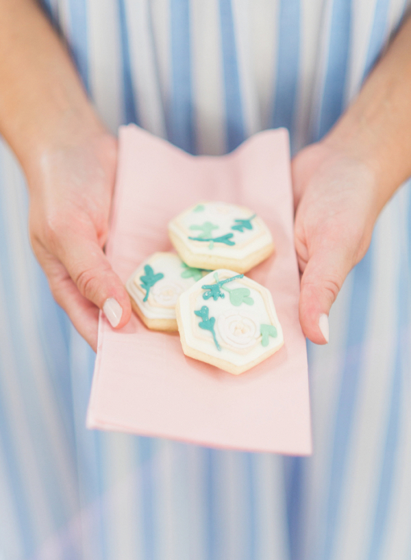 Custom Wedding Cookies