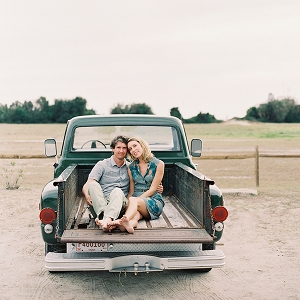 Vintage Seaside Engagement In Charleston