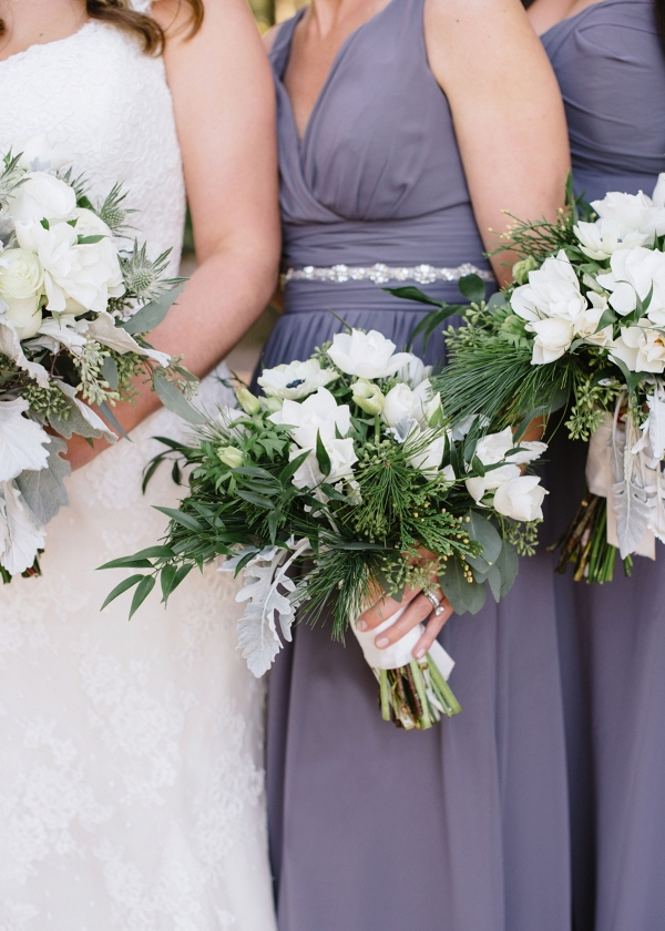 Lavender Winter Wedding In Charleston SC