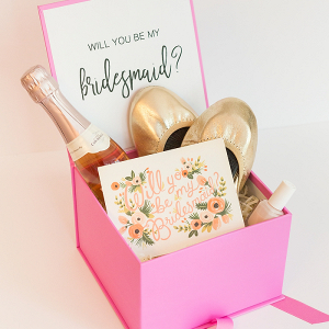 DIY Bridesmaids Proposal