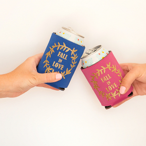 Easy DIY Wedding Koozies