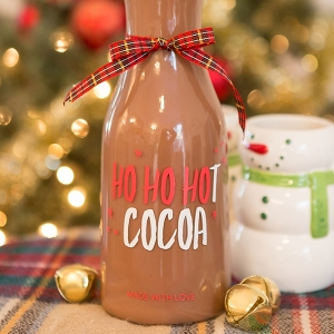 DIY Hot Cocoa Bottle