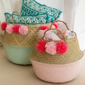 How To DIY Your Own Pom Pom Basket