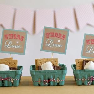 DIY Wedding S'mores Bar