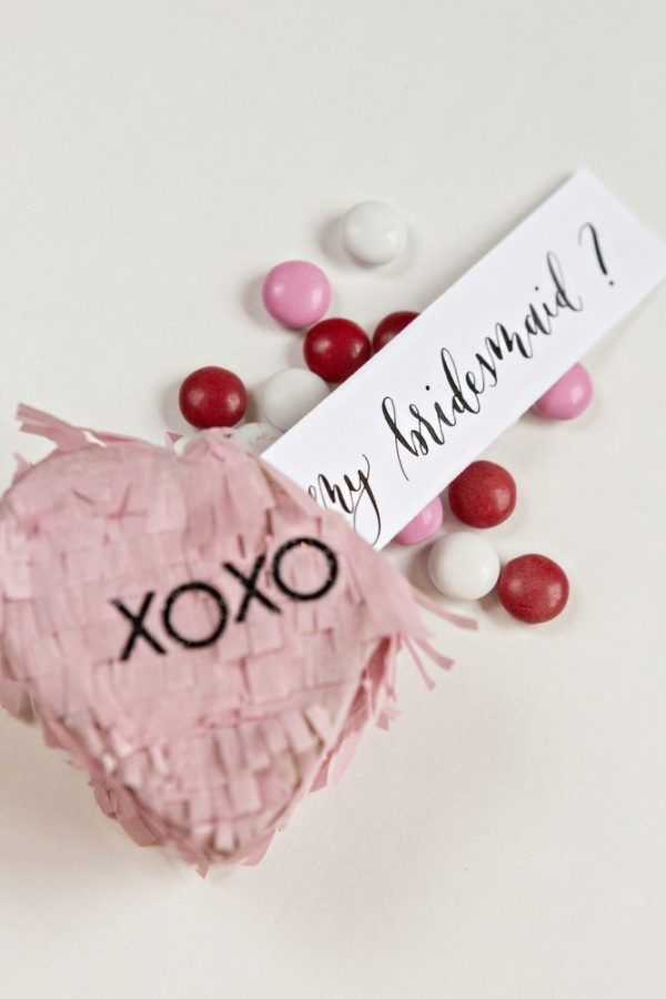 DIY Will You Be My Bridesmaid Pinata