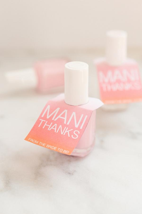 Free Printable Nail Polish Gift Tags