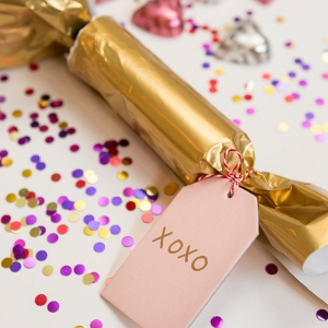 DIY Valentine's Party Poppers