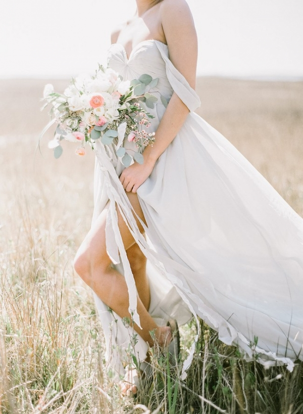 Grey Blue Bridal Inspiration