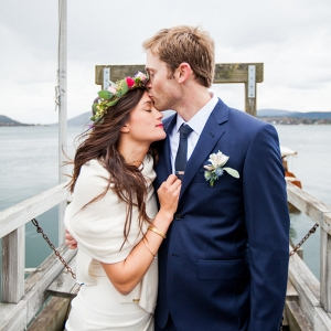 Coastal Harbor Wedding In Maine