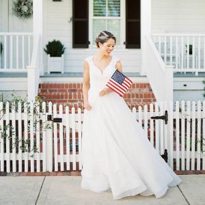 Patriotic Bridal Portraits