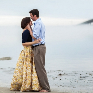 Mist Filled Atlantic Beach North Carolina Engagement