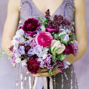Monochrome Wedding Bouquet Inspiration