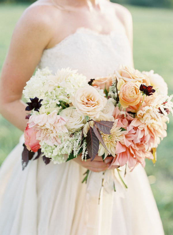 Organic Muted Pastel Bouquet