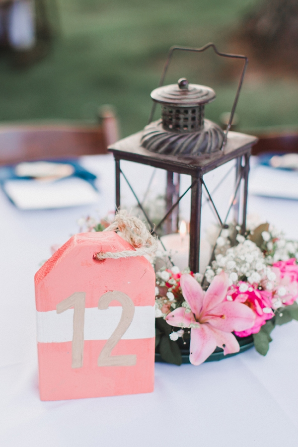 Nautical Tablescape With Buoys