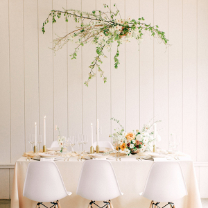 White Modern Wedding Inspiration