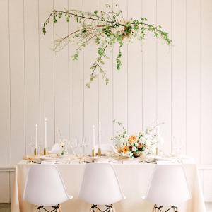 White Modern Wedding Inspiration