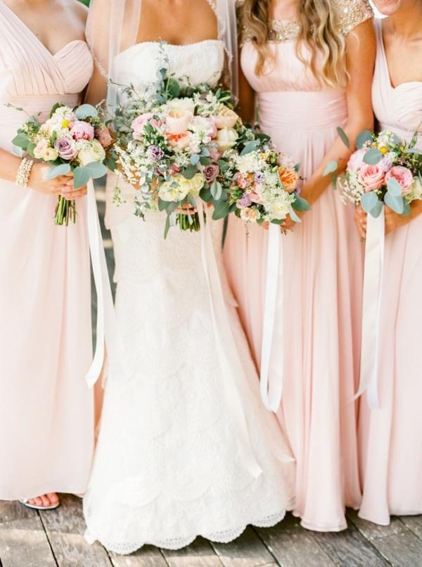 Pastel Magnolia Plantation Wedding