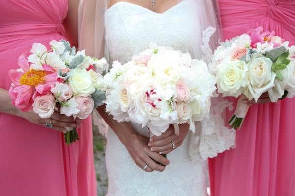 Pink Alhambra Hall Wedding In Mt. Pleasant SC