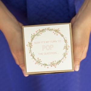 DIY Bridesmaids Box with Lindt Chocolate